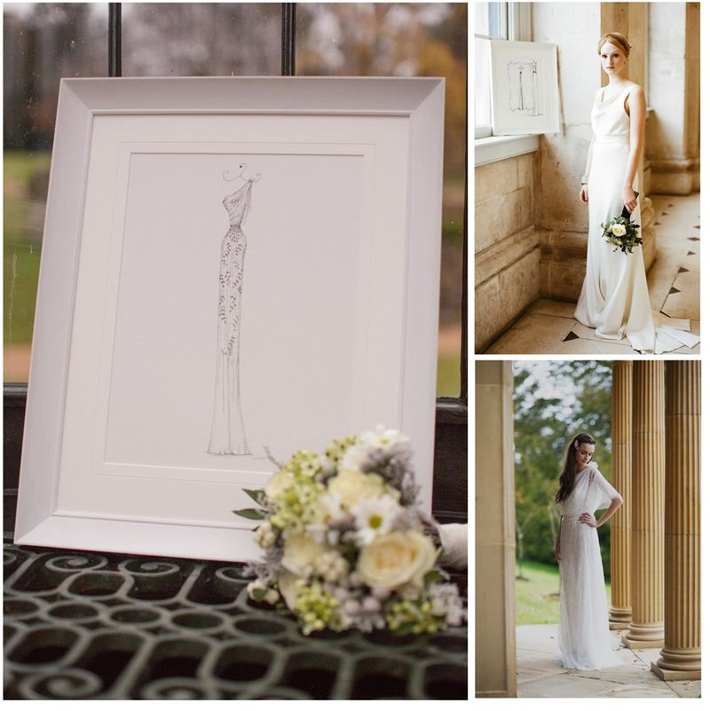 Weddingdressportrait
