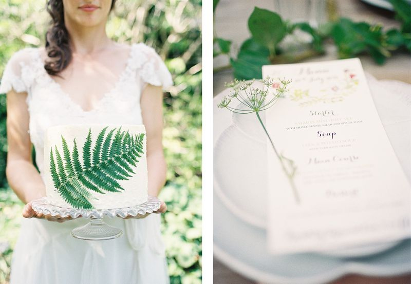 Beautiful Wedding Menu