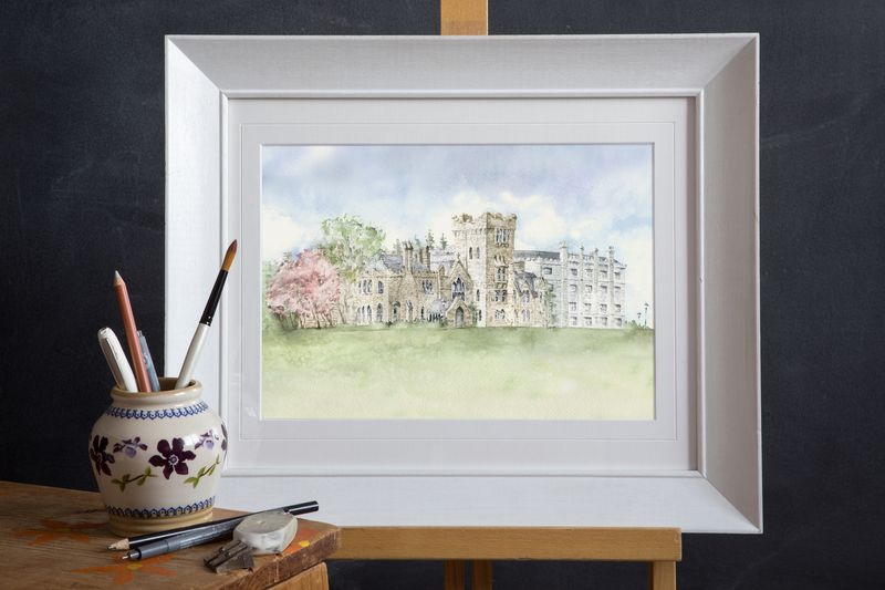 Kilronan Castle Venue Illustration