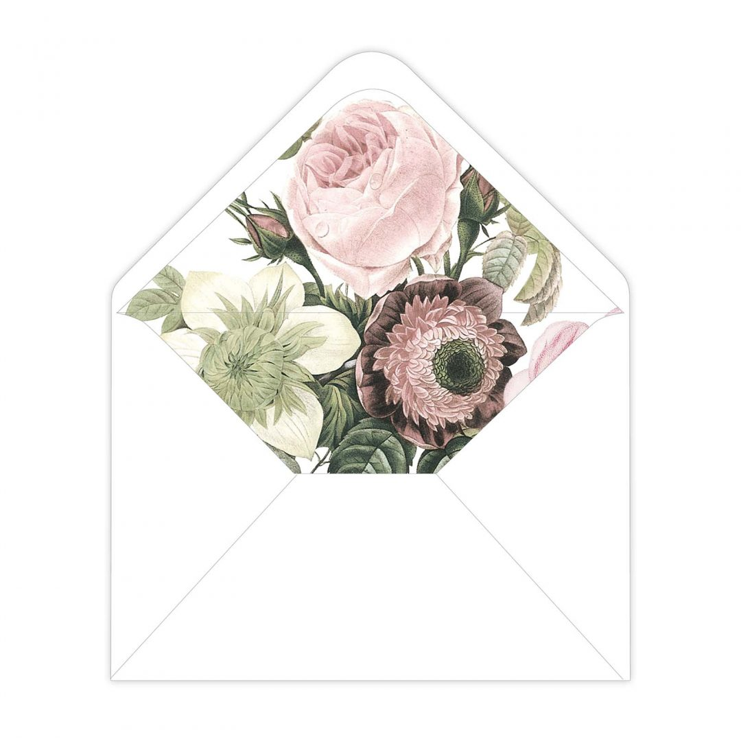 Botanical Envelope Liner
