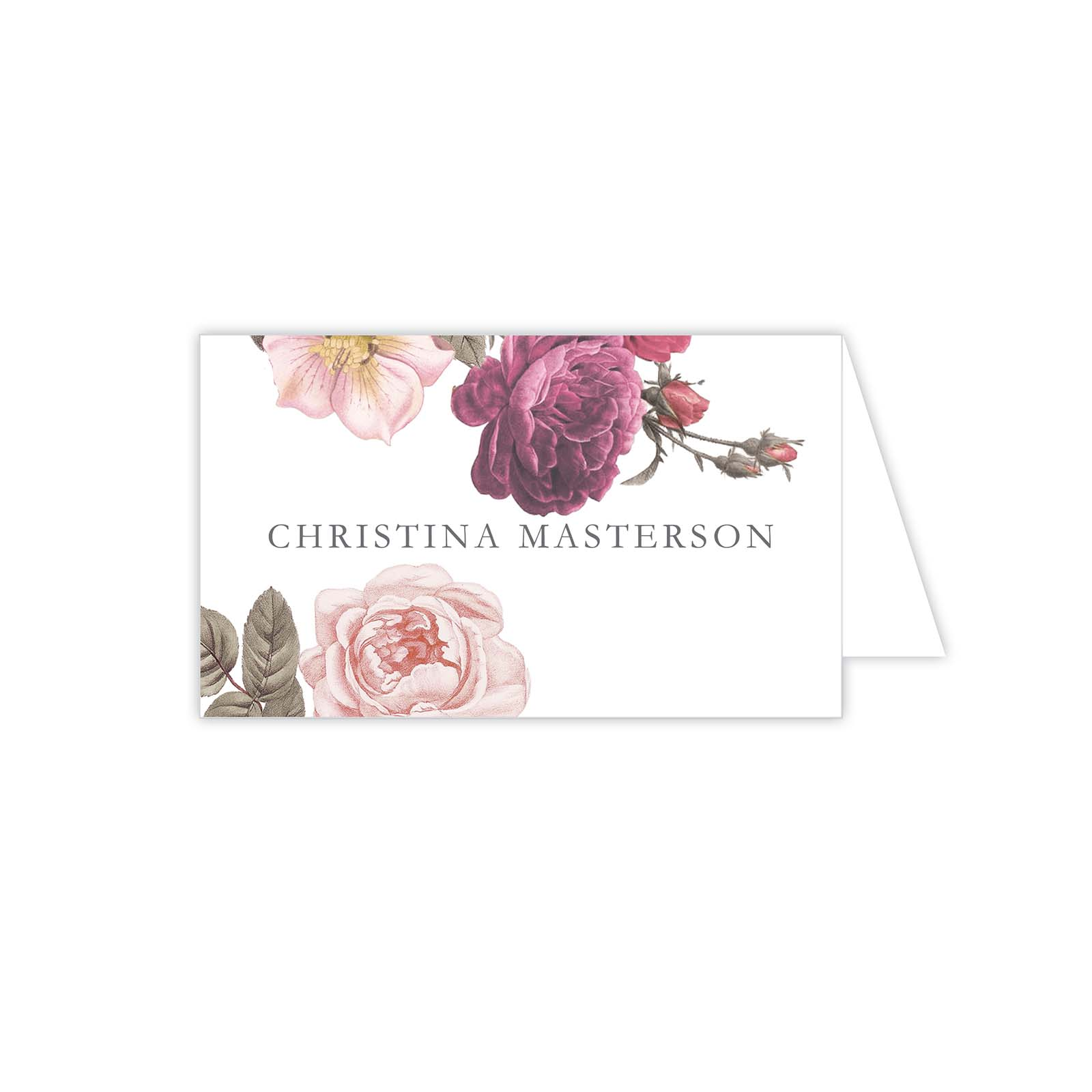 Botanical Placecard