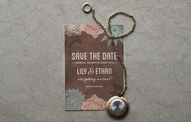 Top Tips Save The Date Cards