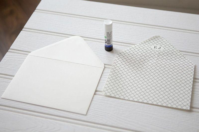 1) Envelope Liner Glue