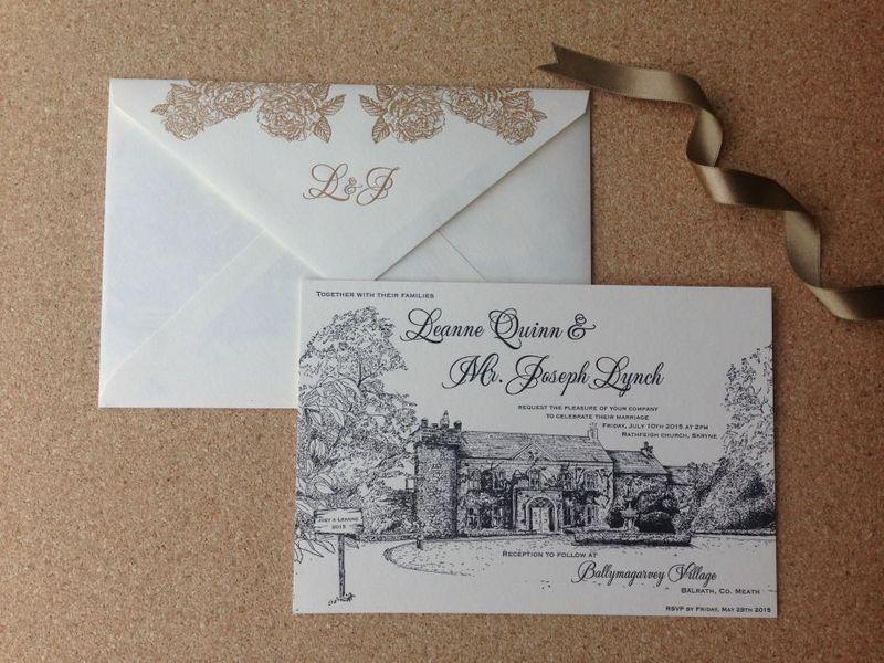 Ballymagarvey Letterpress Invitations(1)