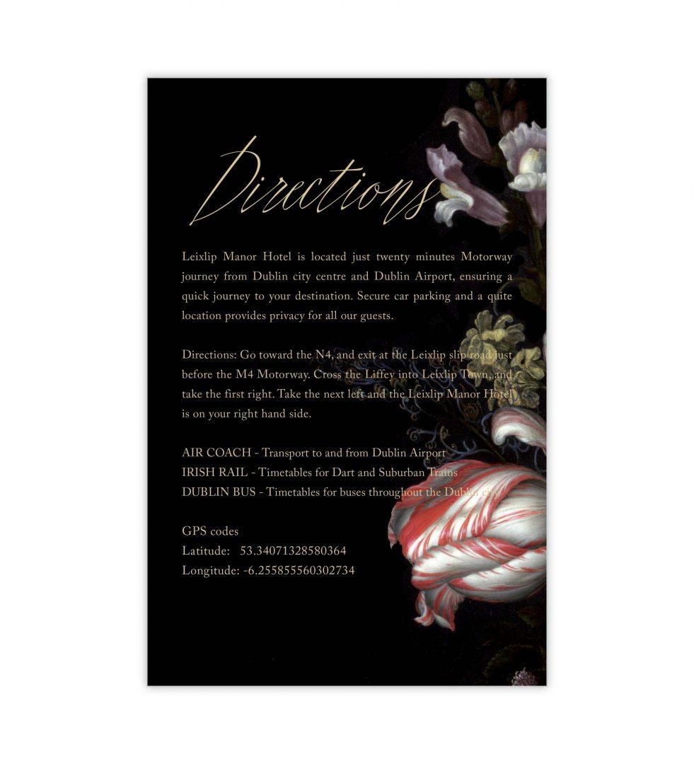 Dark Blooms Details Card