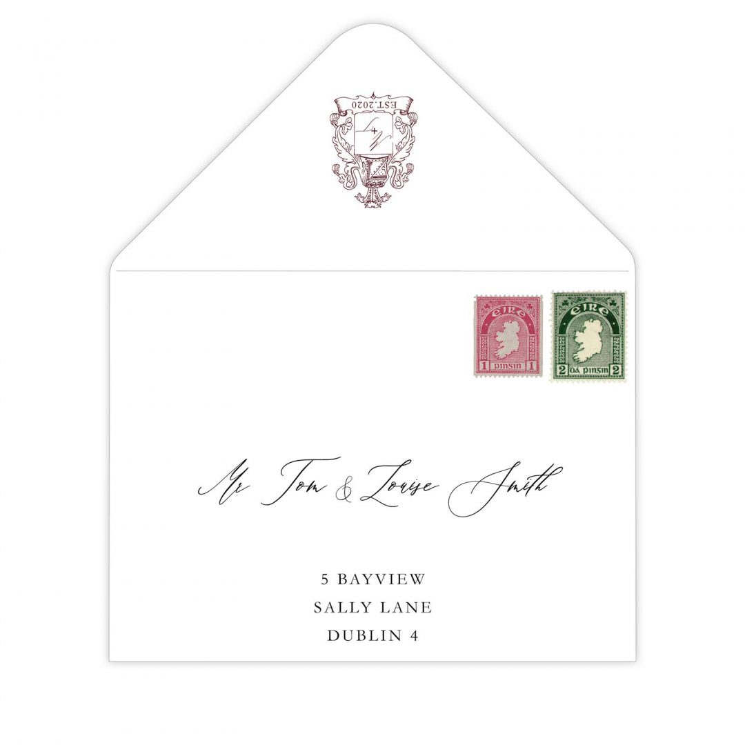 Manor Wedding Main Envelope