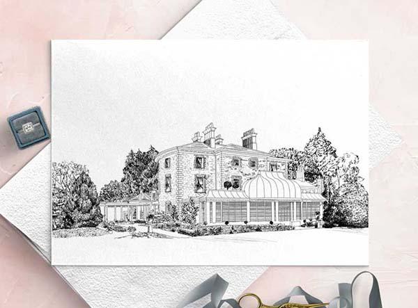 Marlfield House Wedding Venue