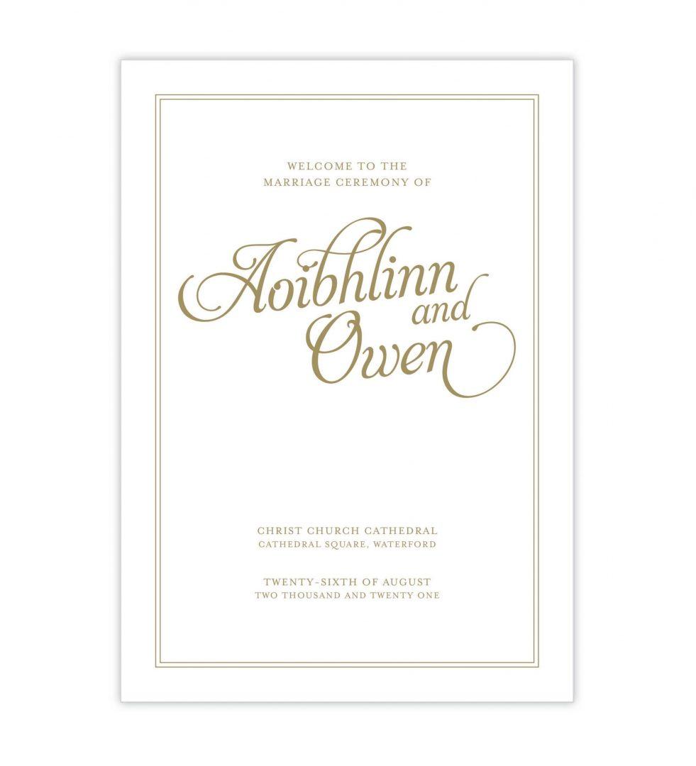 Opulence Mass Booklet