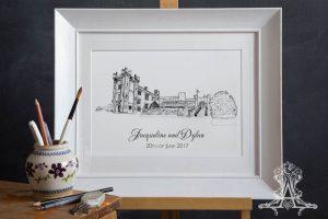 Cabra Castle Print