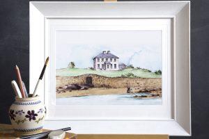 Painted Portrait House