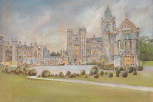 Adare Manor Oil Painting