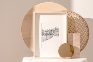 Bespoke House Illustration Gift New Home