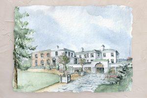 Tankardstown Watercolor Painting