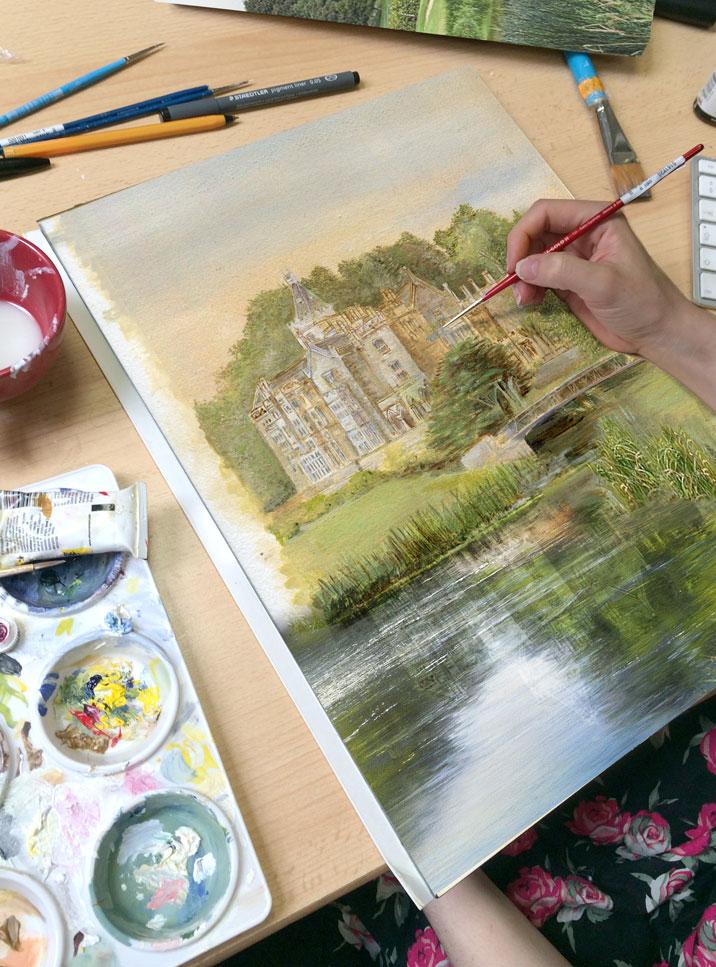 Adare Manor Painting Studio