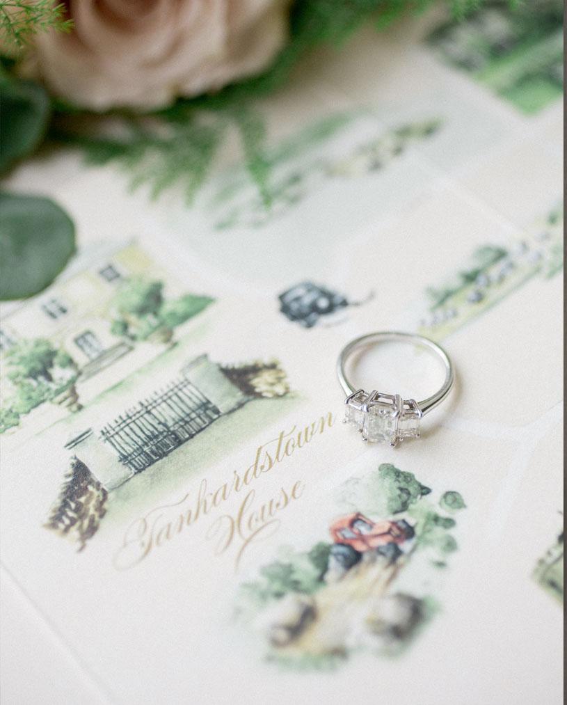 Bespoke Illustrated Wedding Map