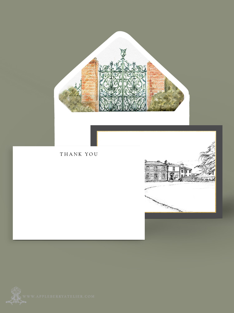 Tankardstown House Corporate Stationery