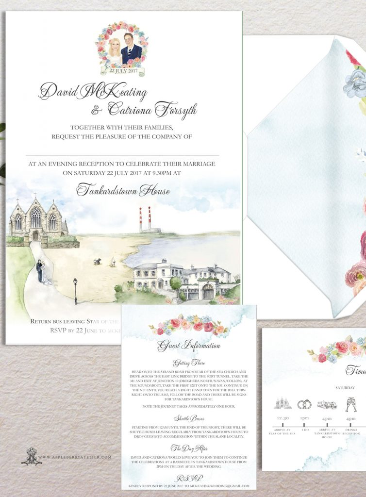Tankardstown House Invitation