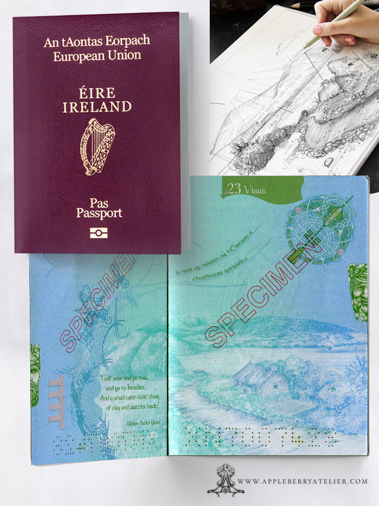 Irish Passport Design