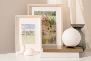 Bespoke Painting Of Wedding Venue Personalised Watercolor